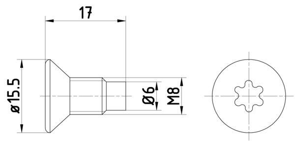 TEXTAR  TPM0004 Schraube, Bremsscheibe