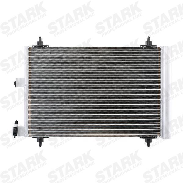 STARK  SKCD-0110075 Kondensator, Klimaanlage Netzmaße: 568*361*16, Kältemittel: R 134a