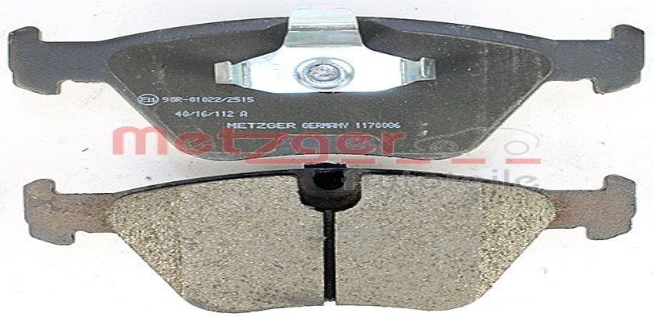 Bremsbelagsatz METZGER 21677 Bewertung