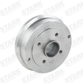 Bremstrommel Ø: 180,2mm, Br.Tr.Durchmesser außen: 208mm mit OEM-Nummer 60 01 548 126
