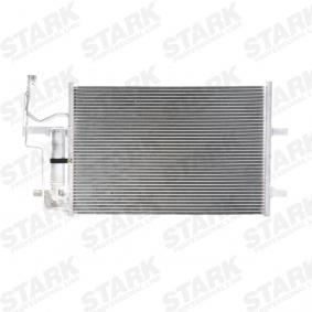 Condensador MAZDA 3 (BK) 1.4 de Año 10.2003 84 CV: Condensador, aire acondicionado (SKCD-0110146) para de STARK