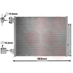 Kondensator, Klimaanlage mit OEM-Nummer 921006454R