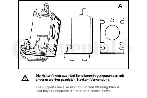 Scheibenwaschpumpe VDO 246-075-015-001Z Bewertung