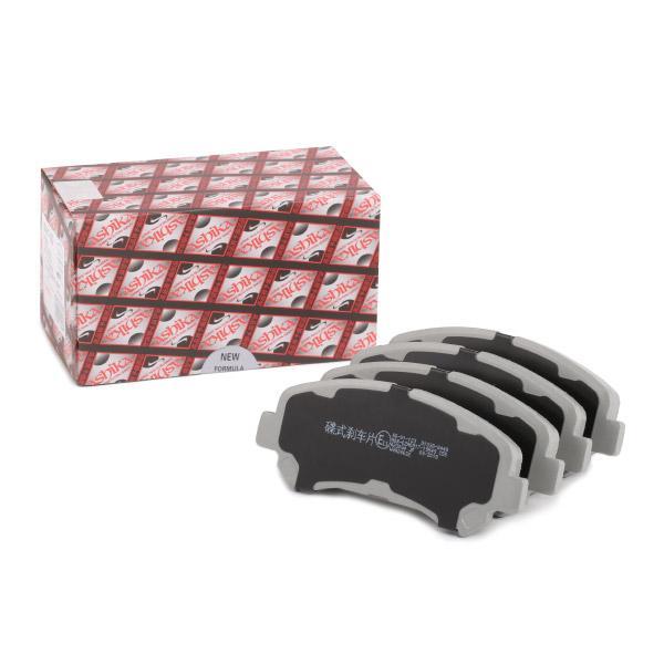 ASHIKA Jogo de pastilhas para travão de disco 50-01-123