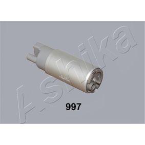 Kraftstoffpumpe Druck [bar]: 3,35bar, Ø: 38mm, Ø: IN :10 OUT :9mm, Länge über Alles: 135mm mit OEM-Nummer 5003 869AA