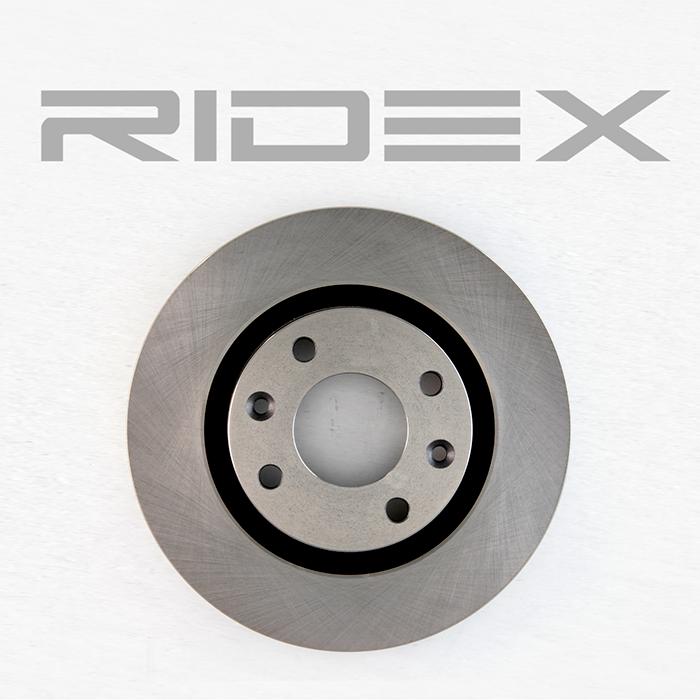 Discos de Freno RIDEX 82B0015 4059191312702
