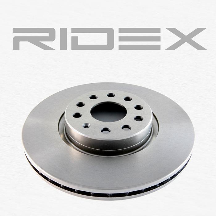Bremsscheibe RIDEX 82B0031 4059191312726