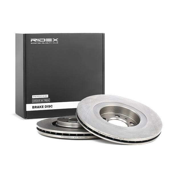 Disc Brakes RIDEX 82B0211 4059191312924