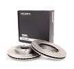 cojinete, caja cojinete rueda FORD FOCUS (DAW, DBW) 1.8 TDCi de Año 03.2001 115 CV: Disco de freno (82B0006) para de RIDEX