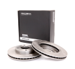 OEM Спирачен диск 82B0006 от RIDEX