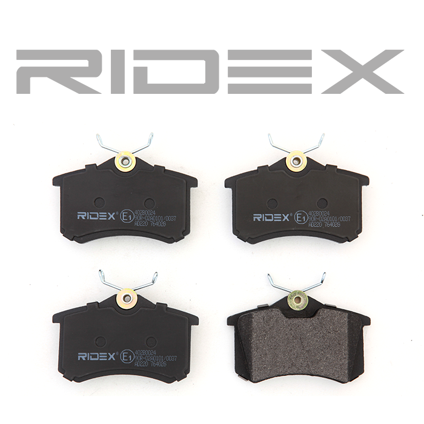 Disk Pads RIDEX 402B0024 4059191313556