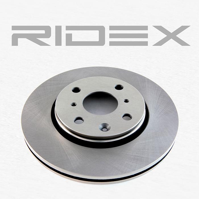 Disc Brakes RIDEX 82B0050 4059191313815