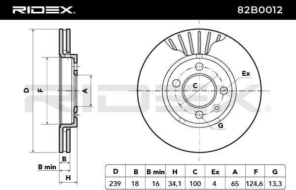 RIDEX 82B0012 EAN:4059191314393 sklep online