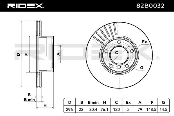 RIDEX Art. Nr 82B0032 günstig