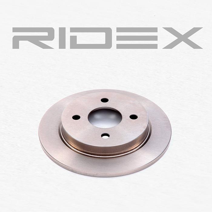 Disc Brakes RIDEX 82B0014 4059191314478