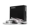 Batería AUDI A4 (8E2, B6) 1.9 TDI de Año 11.2000 130 CV: Disco de freno (82B0706) para de RIDEX