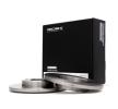 RIDEX 82B0655 Комплект спирачни дискове VW SAVEIRO Г.П. 2020