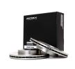 RIDEX Комплект спирачни дискове ROVER предна ос, вътрешновентилиран, без колесна главина, без болтове за закрепване на колелата