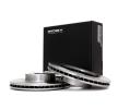 Спирачни дискове SUBARU Legacy 4 (BP) 2008 годината на производство 82B0103 предна ос, вътрешновентилиран, без колесна главина, без болтове за закрепване на колелата