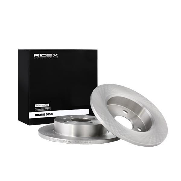 Disc Brakes RIDEX 82B0008 expert knowledge