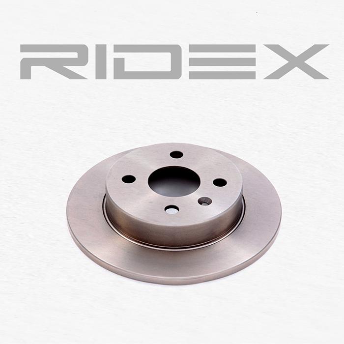 Disc Brakes RIDEX 82B0008 4059191315260