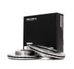 RIDEX 82B0385 Brake disc set CHEVROLET AVEO MY 2020
