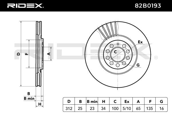 RIDEX Art. Nr 82B0193 günstig