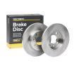 OEM Спирачен диск 82B0659 от RIDEX