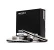Kolbenringsatz für OPEL CORSA C (F08, F68) 1.2 75 PS ab Baujahr 09.2000 RIDEX Bremsscheibe (82B0047) für