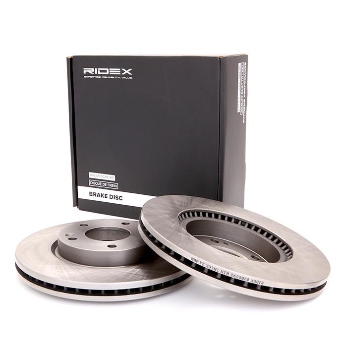 Disc Brakes RIDEX 82B0393 expert knowledge