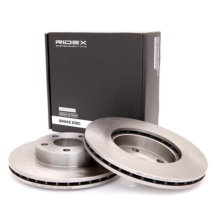 Brake Discs 82B0114 RIDEX 82B0114 original quality