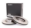 Brake disc kit TOYOTA COROLLA (ZZE12_, NDE12_, ZDE12_) 2007 year 7999411 RIDEX Front Axle, Internally Vented