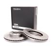 Brake disc kit KIA RIO 2 (JB) 2019 year 7999415 RIDEX Internally Vented, without wheel hub, without wheel studs