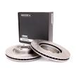 Brake disc kit TOYOTA AVENSIS (T25_) 2005 year 7999463 RIDEX Internally Vented