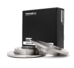 RIDEX Brake discs and rotors SMART Rear Axle, Solid
