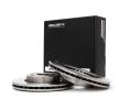 RIDEX Комплект спирачни дискове DAIHATSU предна ос, вътрешновентилиран, без колесна главина, без болтове за закрепване на колелата
