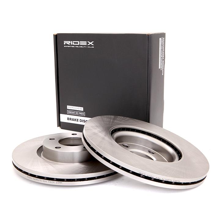 Disc Brakes RIDEX 82B0170 expert knowledge
