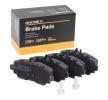 Sensor de Nivel de Combustible MERCEDES-BENZ CLASE A (W168) A 170 CDI (168.008) de Año 07.1998 90 CV: Juego de pastillas de freno (402B0090) para de RIDEX