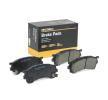 RIDEX Bremsekloss FORD USA framaksel, inkl. slitasjevarselkontakt, med akustisk slitasjevarsel