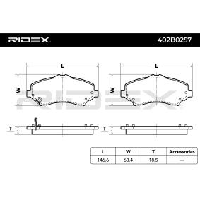 RIDEX 402B0257 4059191321902