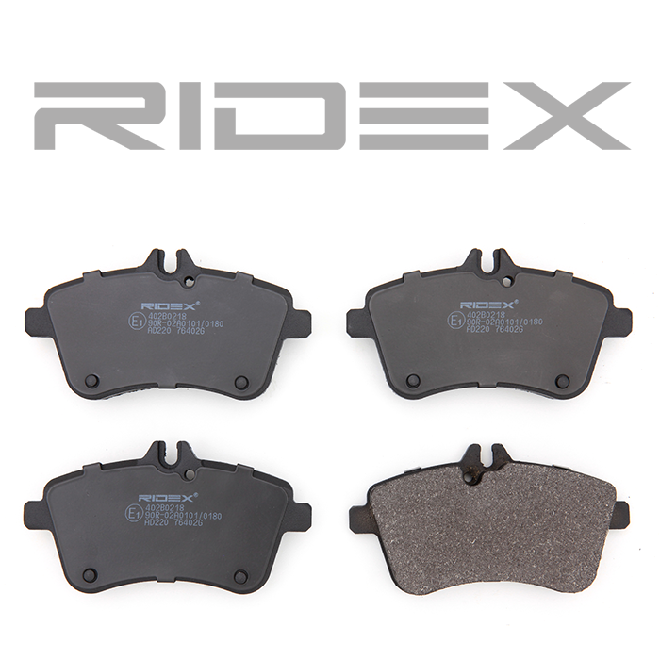 Disk Pads RIDEX 402B0218 4059191322138
