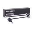 Travesaños barras estabilizador RIDEX 8000009 Eje delantero, ambos lados, con accesorios