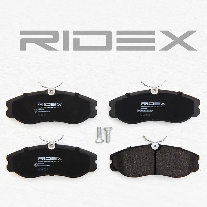 Bremsklötze RIDEX 402B0195 4059191323173