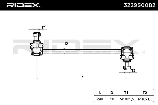 3229S0082 RIDEX zu niedrigem Preis