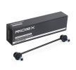 Travesaños barras estabilizador RIDEX 8000210 ambos lados, Eje delantero