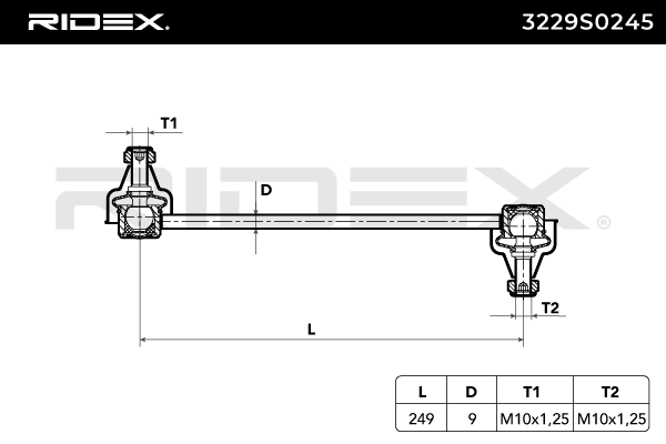 RIDEX Art. Nr 3229S0245 günstig