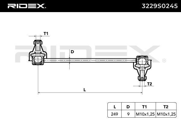 RIDEX Art. Nr 3229S0245 advantageously