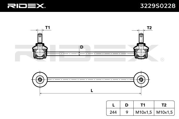 RIDEX Art. Nr 3229S0228 günstig