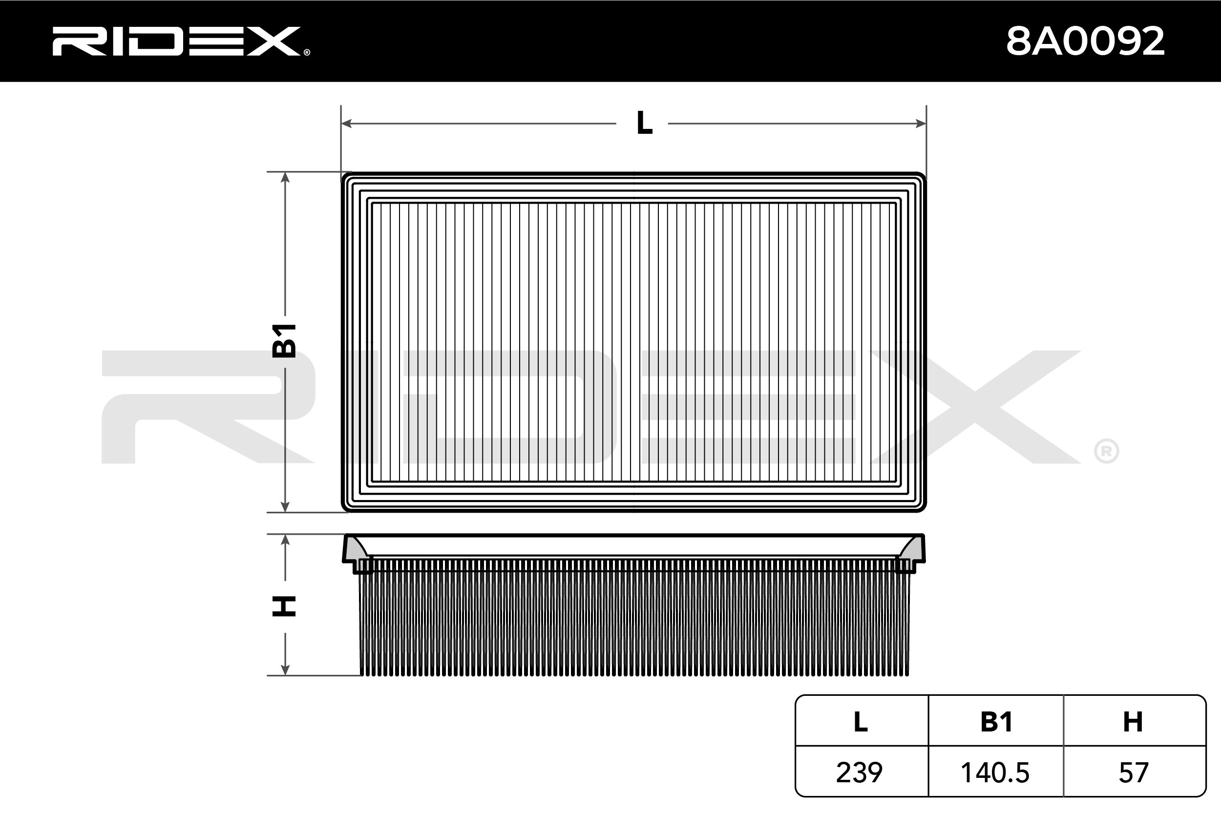 RIDEX Art. Nr 8A0092 günstig