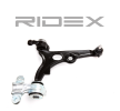 RIDEX Suspension arm FIAT Right, Front Axle, Control Arm